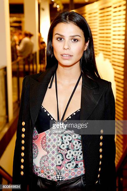 Katie Keight attends the book launch of Matthew Williamson Fashion Print Colouring by Laurence King Publishing at Anthropologie on September 8 2016...