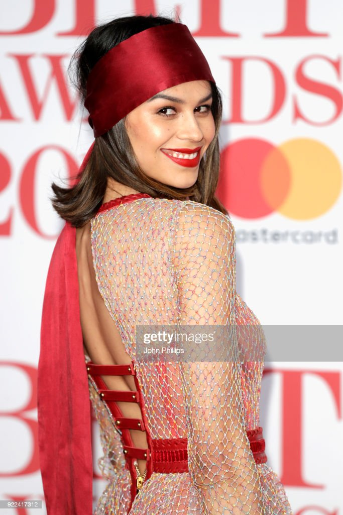 The BRIT Awards 2018 - Red Carpet Arrivals : Nachrichtenfoto