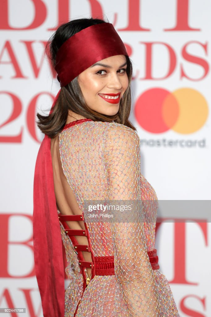 The BRIT Awards 2018 - Red Carpet Arrivals : News Photo
