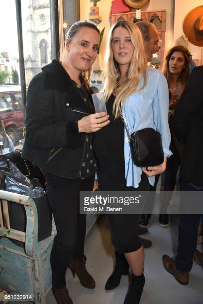 61fe3533b25 Katie Lanham and Gracie Egan attend the Taylor Morris summer popup launch  party in Notting Hill.