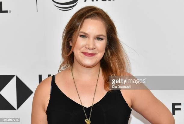 Katie Leary attends the screening of All These Small Moments during the 2018 Tribeca Film Festival at SVA Theatre on April 24 2018 in New York City
