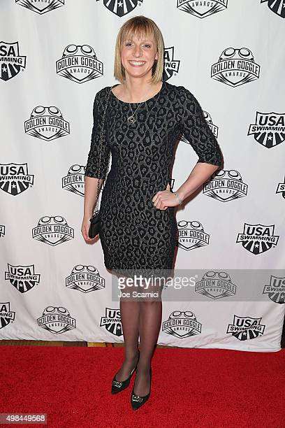 Katie Ledecky attends the 2015 USA Swimming Golden Goggle Awards at JW Marriot at LA Live on November 22 2015 in Los Angeles California