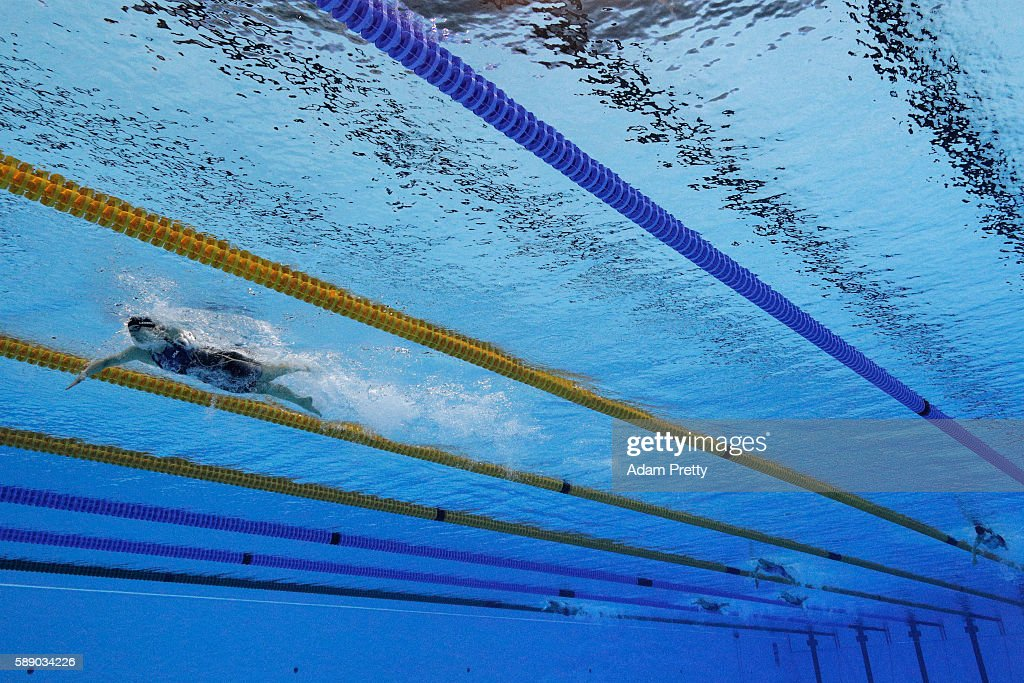 Swimming - Olympics: Day 7 : Foto jornalística