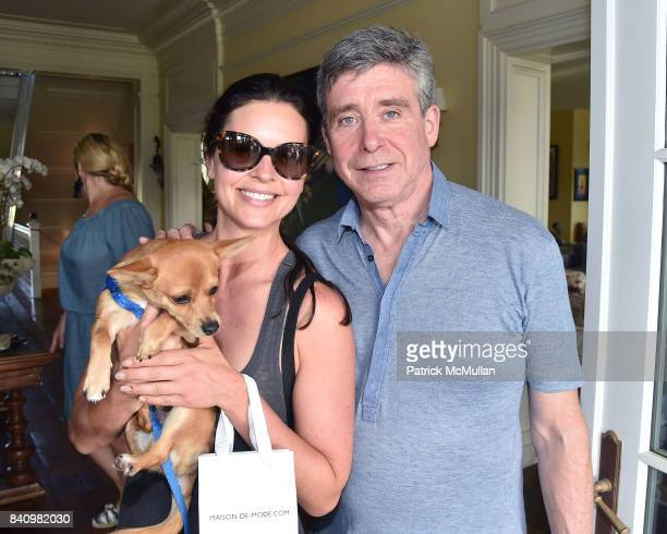Katie Lee and Jay McInerney attend Anne Hearst McInerney and Jay McInerney's celebration of Amanda Hearst and Hassan Pierre's Maison de Mode at a...