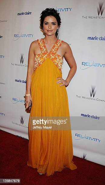 Katie Lee arrives at The Weinstein Company and Relativity Media's 2011 Golden Globe After Party presented by Marie Claire held at Bar 210 at The...