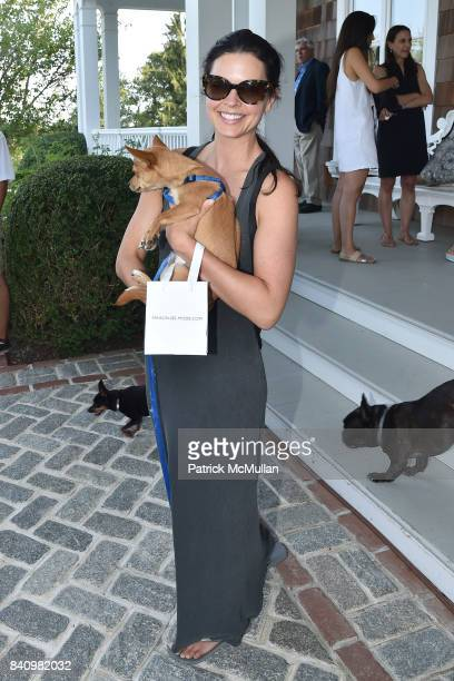 Katie Lee attends Anne Hearst McInerney and Jay McInerney's celebration of Amanda Hearst and Hassan Pierre's Maison de Mode at a Private Residence on...