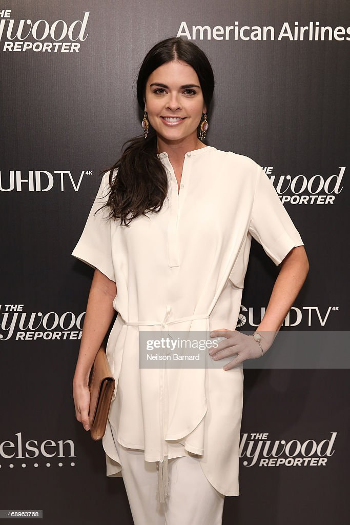 Katie Lee attends 'The 35 Most Powerful People In Media' celebrated by The Hollywoood Reporter at Four Seasons Restaurant on April 8, 2015 in New York City.