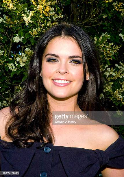 Katie Lee attends the Cinema Society Dior Beauty screening of Grease SingALong on July 2 2010 in Sagaponack New York