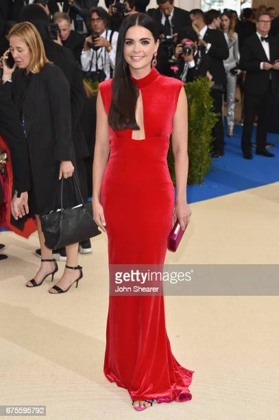 Katie Lee attends the 'Rei Kawakubo/Comme des Garcons Art Of The InBetween' Costume Institute Gala at Metropolitan Museum of Art on May 1 2017 in New...