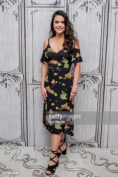 Katie Lee discusses 'Beach Bites' with AOL Build at AOL Studios In New York on June 2 2016 in New York City