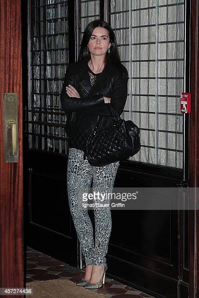 Katie Lee is seen on April 25 2012 in New York City