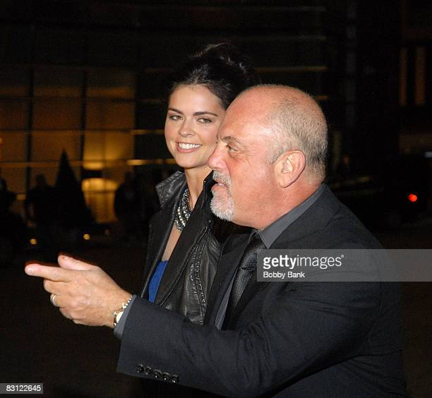 Katie Lee Joel and Billy Joel attend the wedding of Howard Stern and Beth Ostrosky at Le Cirque on October 3 2008 in New York City