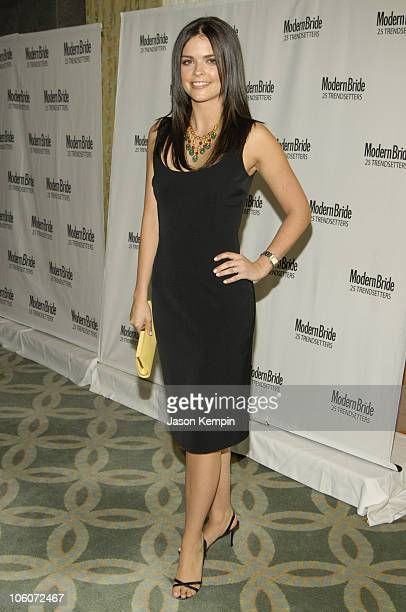 Katie Lee Joel during Modern Bride's 25 Trendsetters Of 2006 Awards Dinner May 16 2006 at The RitzCarlton Battery Park in New York City New York...