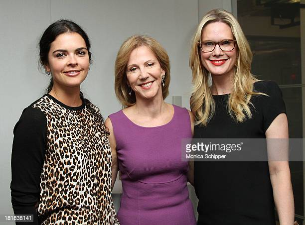 Katie Lee Nancy Northup and Stephanie March attend Center for Reproductive Rights Unite Tonight New York on September 25 2013 in New York City