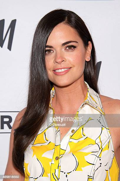 Katie Lee visits Extra at their New York studios at HM in Times Square on April 15 2015 in New York City