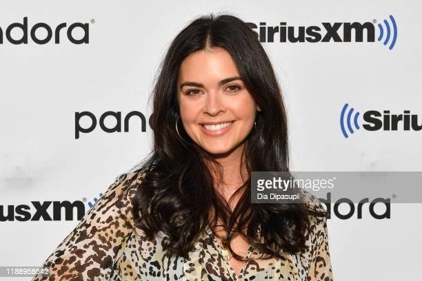Katie Lee visits SiriusXM Studios on November 20, 2019 in New York City.