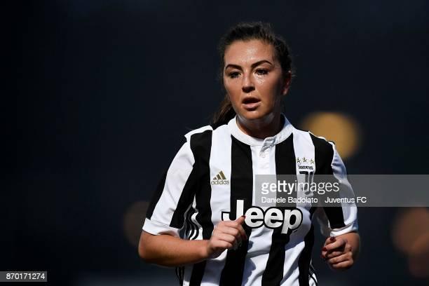Katie Leigh Zelem during the match between Juventus Women and ASG Verona Women at Juventus Center Vinovo on November 4 2017 in Vinovo Italy