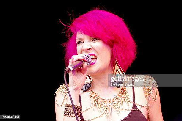 Katie Leonie Love Supreme Jazz Festival Glynde Place East Sussex 2014 Artist Brian O'Connor