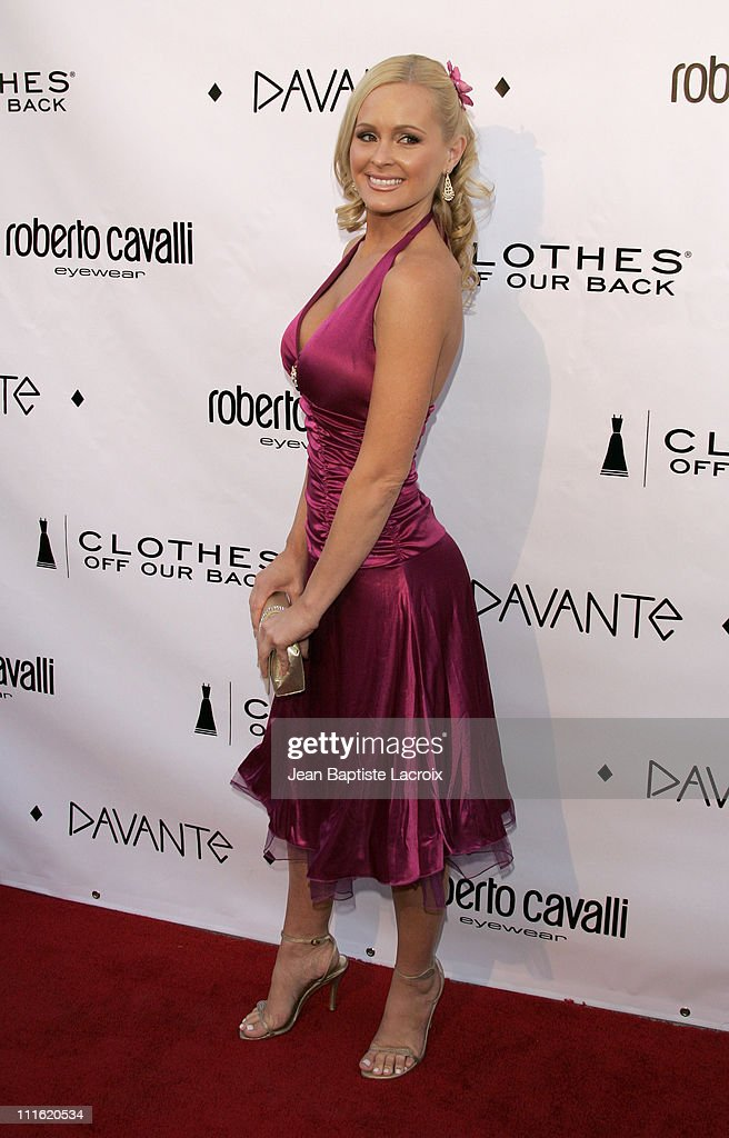 Katie Lohman during Davante Rodeo Drive Boutique Opening at Davante in Beverly Hills, California, United States.