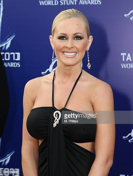 Katie Lohmann during 2007 Taurus World Stunt Awards Arrivals at Paramount Studios in Los Angeles California United States