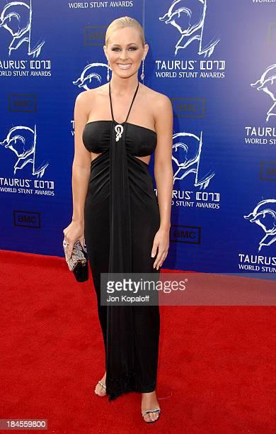 Katie Lohmann during 2007 Taurus World Stunt Awards Arrivals at Paramount Studios in Los Angeles California United States
