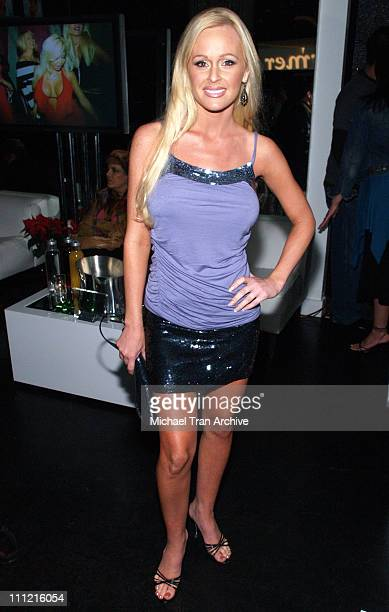 Katie Lohmann during Bench Warmers Holiday Party December 13 2005 at The Lobby in West Hollywood California United States