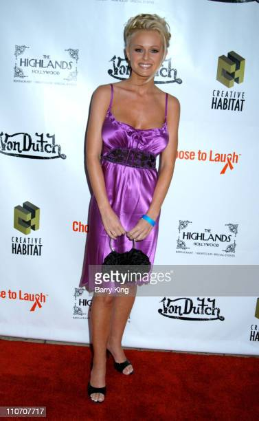 Katie Lohmann during 'Choose To Laugh' Foundtion Presents National Cancer Survivors Day Event at The Highlands in Hollywood California United States