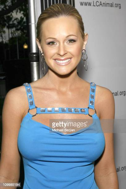 Katie Lohmann during Dealing Dogs Los Angeles Premiere Benefiting Last Chance for Animals in Los Angeles California United States
