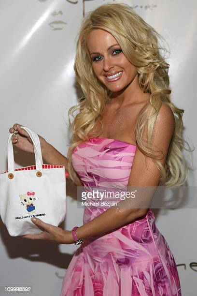 Katie Lohmann during Hello Kitty by Victoria Couture Spring 2007 Fashion Show at Element in Hollywood California United States