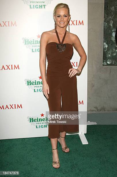 Katie Lohmann during 'Maxim' Hosts Party to Promote the New Heineken Premium Light Beer March 10 2006 at 'Mood' Club in Hollywood California United...
