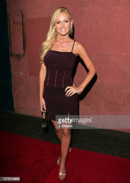 Katie Lohmann during The AIDS Healthcare Foundation Presents 'Hot in Hollywood' at The Henry Fonda/Music Box Theatre in Hollywood California United...
