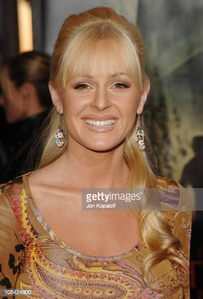 Katie Lohmann during The Amityville Horror World Premiere at Arclight Cinerama Dome in Hollywood California United States