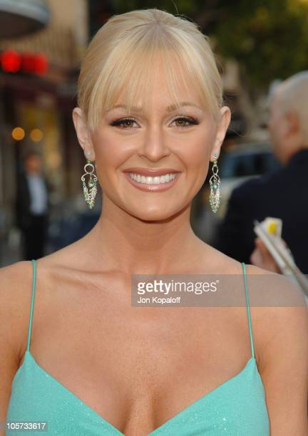 """Katie Lohmann during """"XXX: State of the Union"""" Los Angeles Premiere - Arrivals at Mann Village Westwood in Westwood, California, United States."""