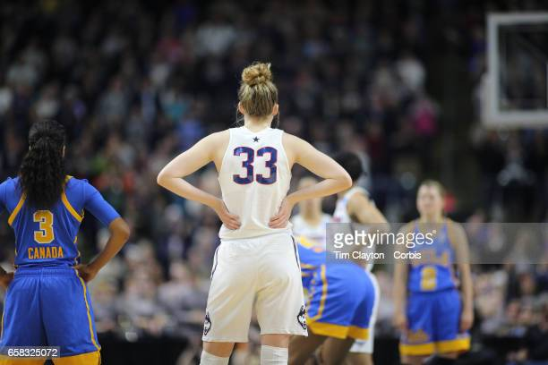 Katie Lou Samuelson of the Connecticut Huskies during the UConn Huskies Vs UCLA Bruins NCAA Women's Division 1 Basketball Championship game on March...