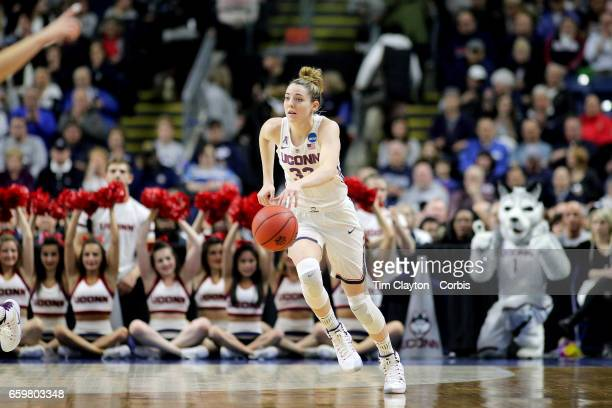 Katie Lou Samuelson of the Connecticut Huskies in action during the UConn Huskies Vs Oregon Ducks NCAA Women's Division 1 Basketball Championship...