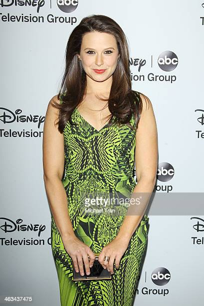 Katie Lowes arrives at the ABC/Disney 2014 Winter TCA party held at The Langham Huntington Hotel and Spa on January 17 2014 in Pasadena California