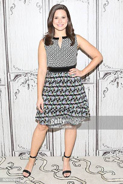 Katie Lowes attends Scandal at AOL Studios In New York on February 10 2016 in New York City