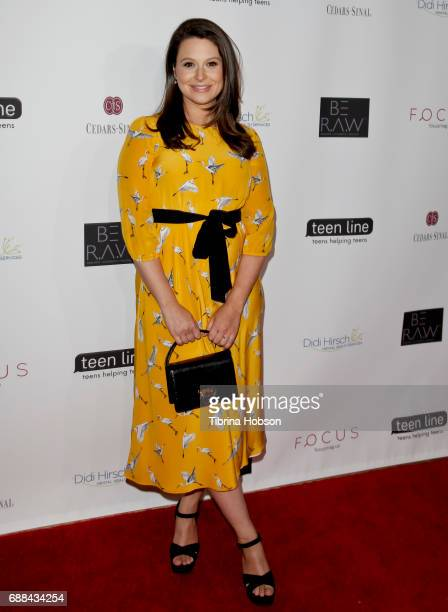 Katie Lowes attends Teen Line's 'Food For Thought' Luncheon at The Beverly Hilton Hotel on May 25 2017 in Beverly Hills California