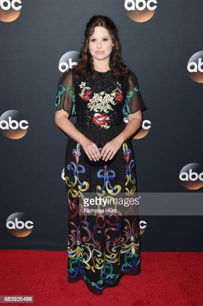 Katie Lowes attends the 2017 ABC Upfront on May 16 2017 in New York City