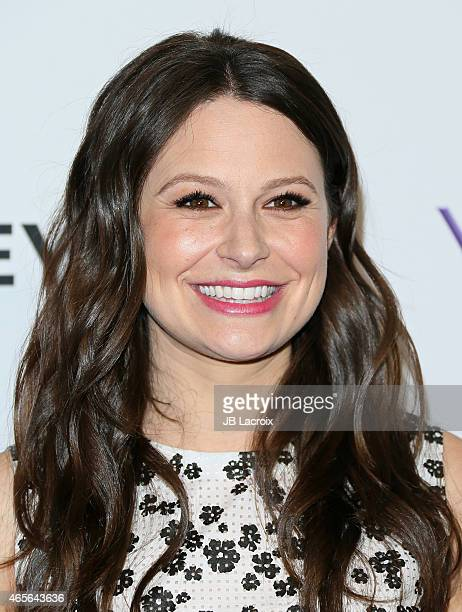 Katie Lowes attends The Paley Center For Media's 32nd Annual PALEYFEST LA 'Scandal' at the Dolby Theatre on March 8 2015 in Hollywood California