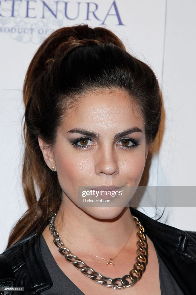 Katie Maloney attends OK! Magazine's Pre-Oscar event at The Argyle on February 19, 2015 in Hollywood, California.