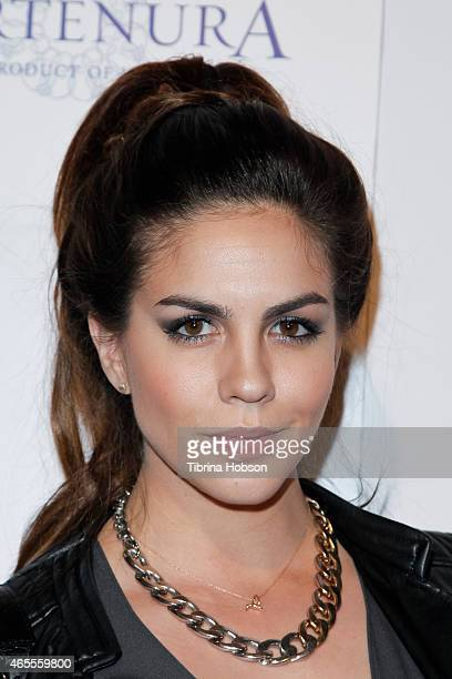 Katie Maloney attends OK Magazine's PreOscar event at The Argyle on February 19 2015 in Hollywood California