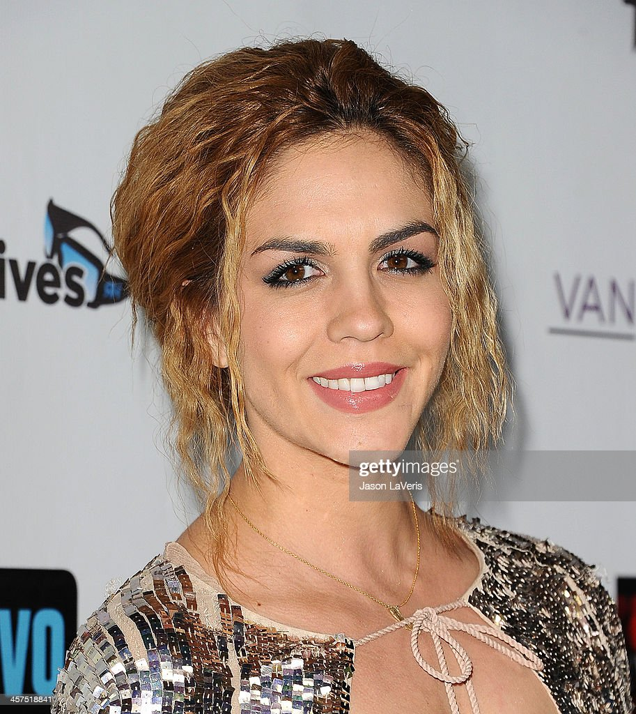 Katie Maloney attends the 'The Real Housewives of Beverly Hills' and 'Vanderpump Rules' premiere party at Boulevard3 on October 23, 2013 in Hollywood, California.