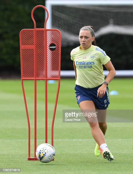 Katie McCabe of Arsenal during the Arsenal Women training session at Arsenal Academy on July 29 2020 in Walthamstow England