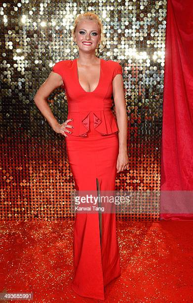 Katie McGlynn attends the British Soap Awards held at the Hackney Empire on May 24 2014 in London England