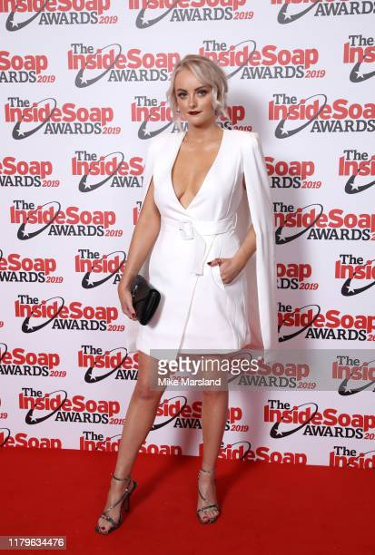 Katie McGlynn attends the Inside Soap Awards at Sway on October 07 2019 in London England