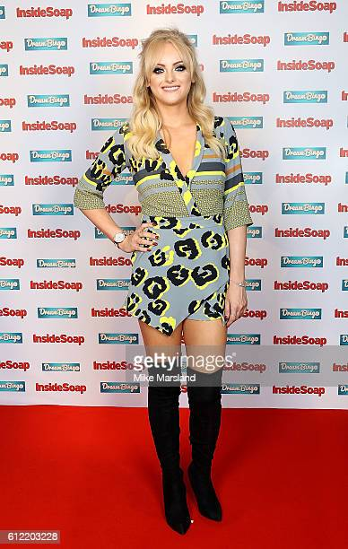 Katie McGlynn attends the Inside Soap Awards at The Hippodrome on October 3 2016 in London England