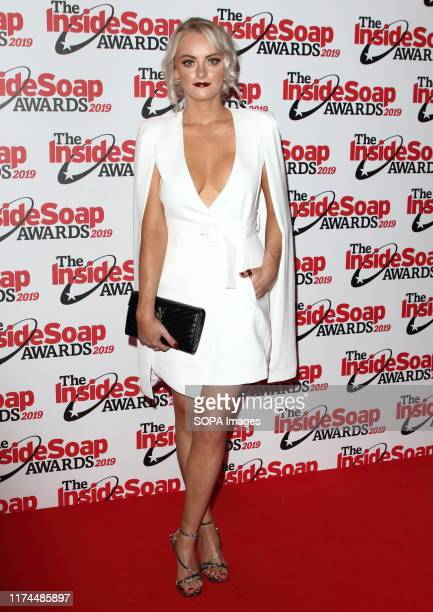 Katie McGlynn attends the Inside Soap Awards at the Sway Nightclub in London