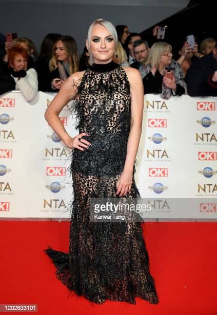 Katie McGlynn attends the National Television Awards 2020 at The O2 Arena on January 28 2020 in London England