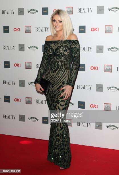 Katie McGlynn seen during The Beauty Awards with OK at the Park Plaza Westminster Bridge